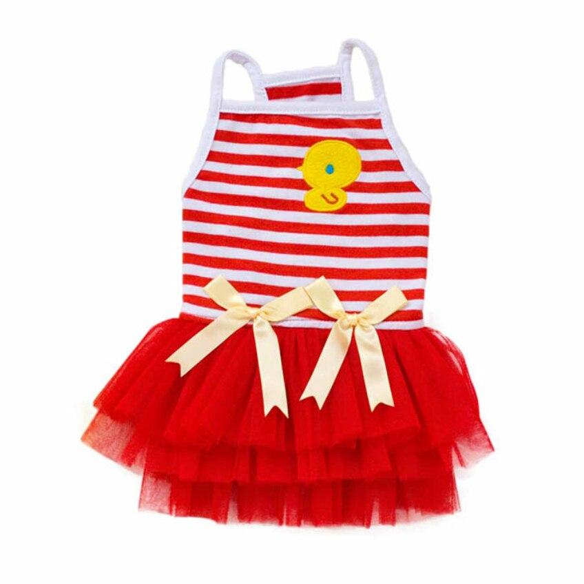 Happy Wysokiej Jakości 2016 Słodki Piękny Puppy Dog Princess Dress - Produkty dla zwierząt domowych - Zdjęcie 2