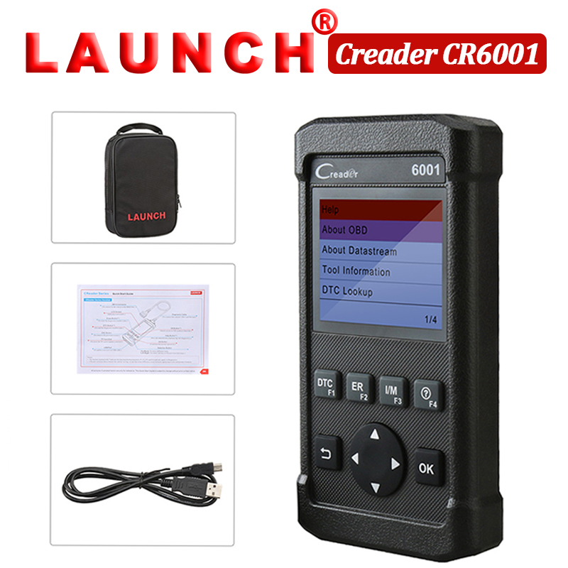 Back To Search Resultsautomobiles & Motorcycles Nice Launch Creader 6001 Full Obdii Obd2 Eobd Functions Support O2 Sensor Test Scanner Code Reader Data Record Replay Diagnostic Tool To Clear Out Annoyance And Quench Thirst