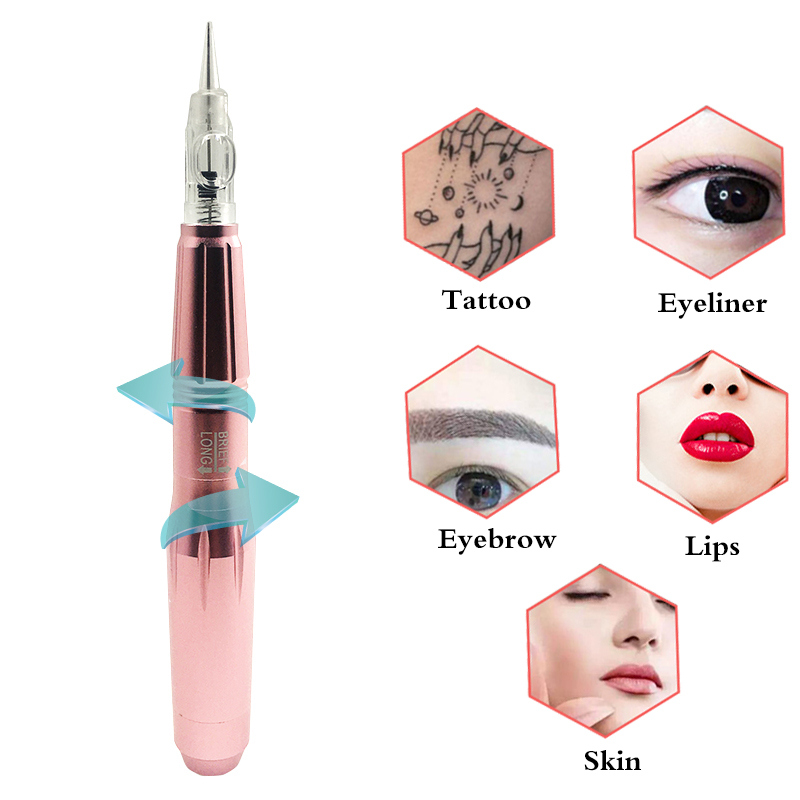 New 600D-G Rotary Permanent pen Professional Tattoo Machine Gun for Eyebrow Lip Eyeline Shader Work With 600D-G Permanent MakeupNew 600D-G Rotary Permanent pen Professional Tattoo Machine Gun for Eyebrow Lip Eyeline Shader Work With 600D-G Permanent Makeup