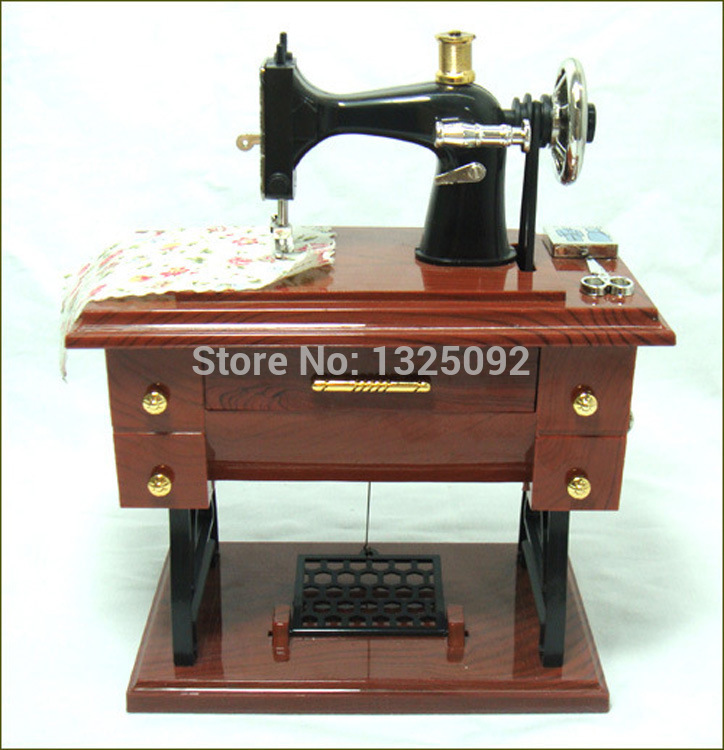 Home Decor Music Boxes Creative Sewing festive birthday gift music box 70324