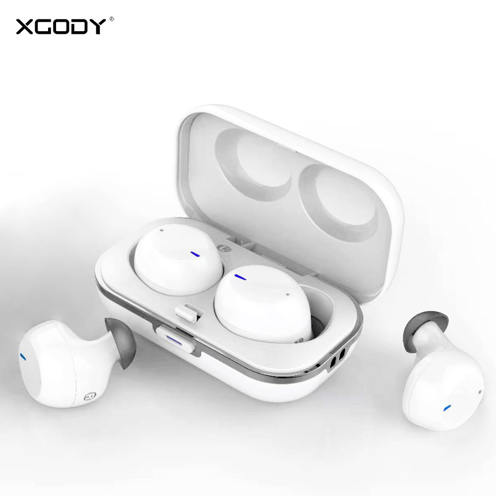 XGODY <font><b>S8</b></font> <font><b>TWS</b></font> Bluetooth Earphone 5.0 Noise Cancelling Wireless Headphones In Ear Twins Bluetooth Headset Earphone For Phone image