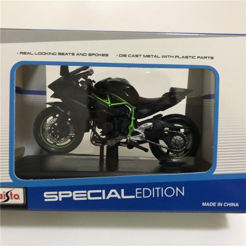 Maisto 1//18 Kawasaki Ninja H2R Diecast Motorbike  Vehicles Toy Collection Gift