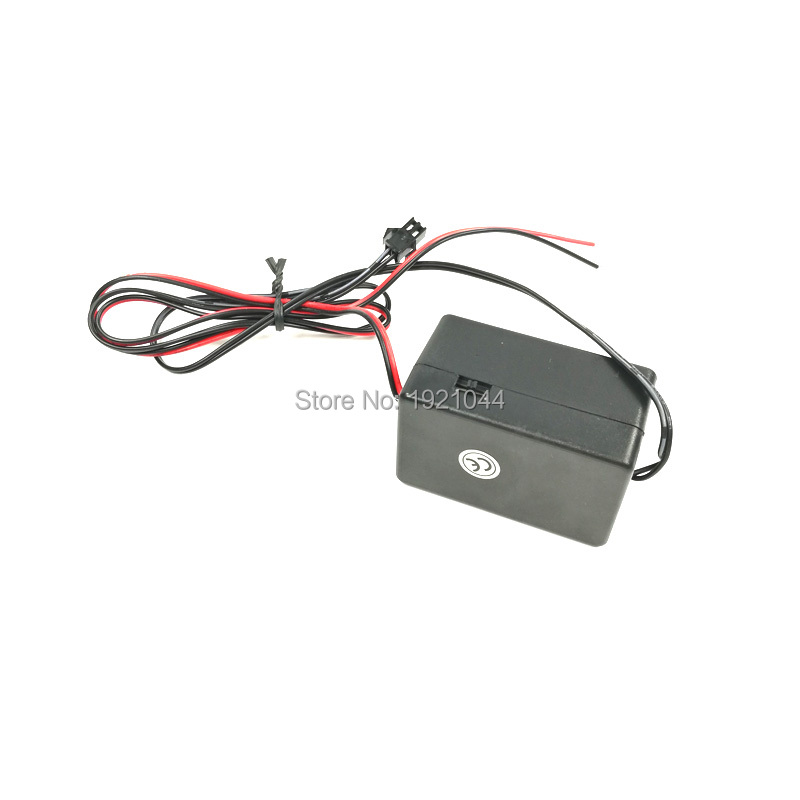 NUOVO Tipo DC-12V 4-20M EL filo inverter Neon LED Light Driver per il caricamento di 20 metri filo EL o EL strip per lampeggiante Party Decor
