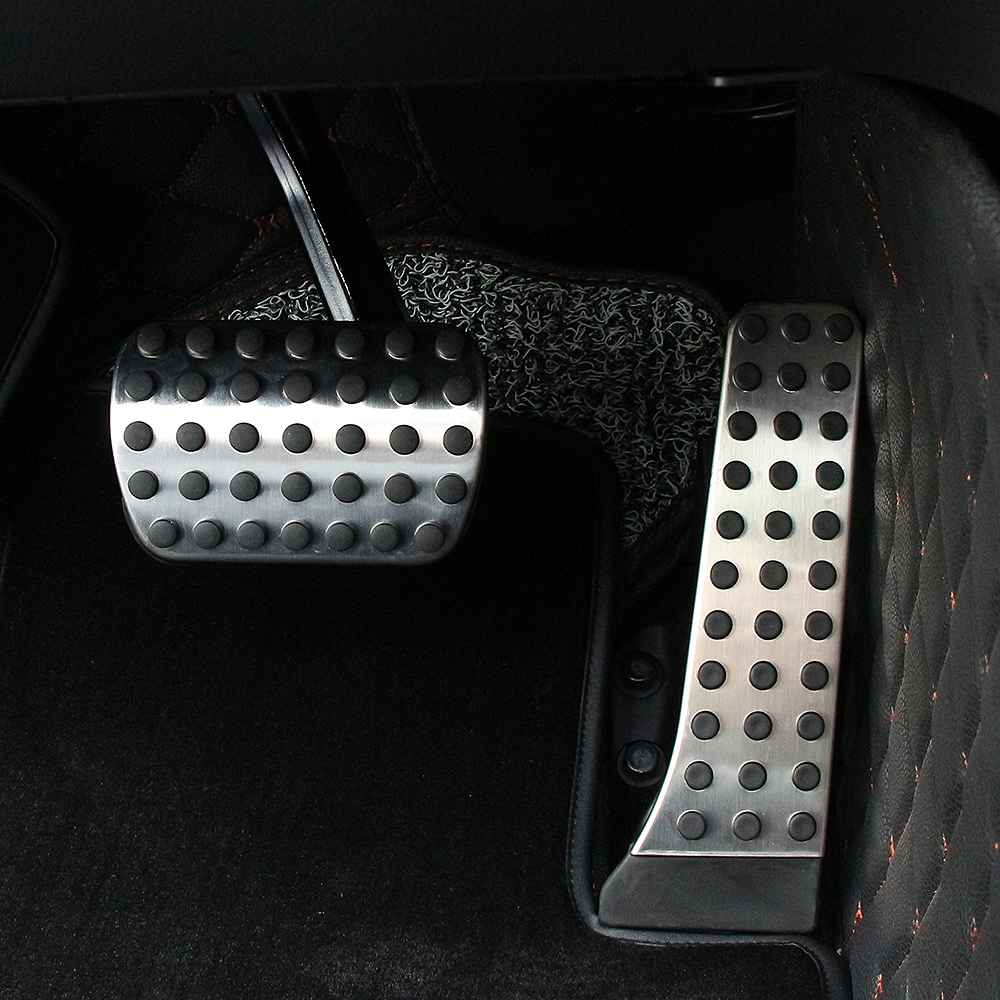 Image 5 - Car styling NO DRILL Car Fuel Brake Foot Pedal AT / MT for Mercedes Benz C E S GLK SLK CLS SL Class W203/W204/W211/W212/W210 AMG-in Pedals from Automobiles & Motorcycles
