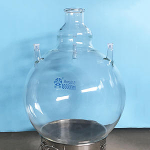 Boiling Flask Round-Bottom 100000ml/100l with Four-Necks Customized