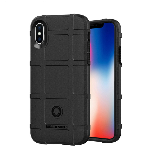 check out 93d9d 67f42 US $3.79 5% OFF|Army Armor Anti shock Cases for iPhone XS 10S Max XR 5 5s  SE 6 6S 7 8 Plus X 10 Case Cover Soft Bumper Antislip Cases for iPhone-in  ...