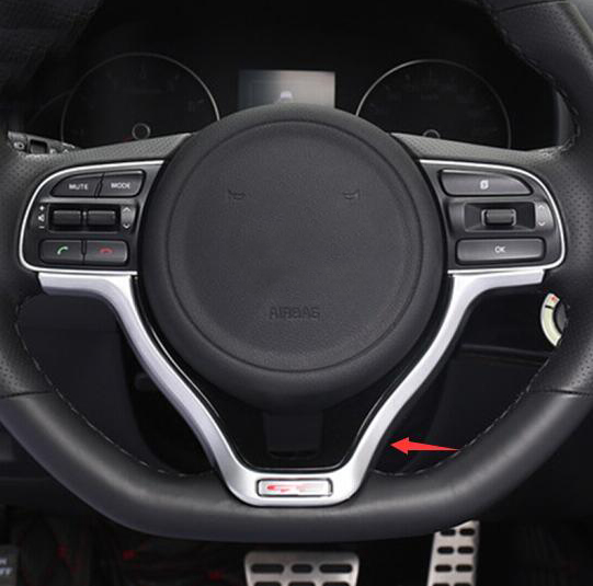 2016 Kia Optima Interior: ABS Chrome For Kia Optima K5 2016 2017 2018 Car Steering