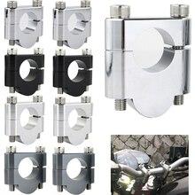 Motorcycle Aluminum Handlebar Riser Fat Mount Clamps 22mm 7/8 For BMW G310R G310GS R1150R R1200R F800S F800ST F800R