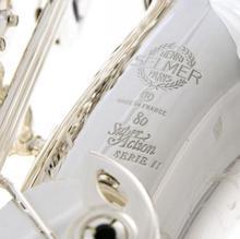 Абсолютно Новый посеребренный SELMER Alto саксофон SA 80 II 802 Юбилейная модель 52-доставка бесплатно по всему миру