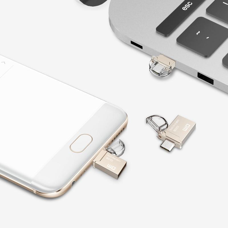OTG USB Flash Drive PD008 8 GB 16 GB 32 GB USB2.0 met dubbele - Externe opslag - Foto 4