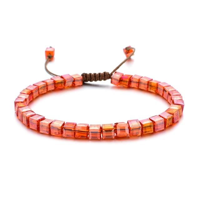 ZMZY Woman Bracelet Wristband Glass Crystal Bracelets Gifts Jewelry Accessories Handmade Wristlet Trinket 1