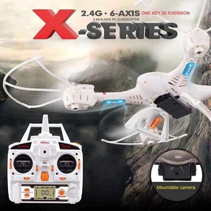 Venta caliente MJX RC Drone X400 2.4 GHz 6 Axis Gyro RC hexacopter con función 3