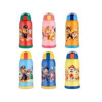 1 ピース本ポウパトロールダブル蓋魔法瓶カップ子供のための 304 ステンレス鋼 550 ミリリットル魔法瓶 Funtainer 子供の誕生日おもちゃギフト