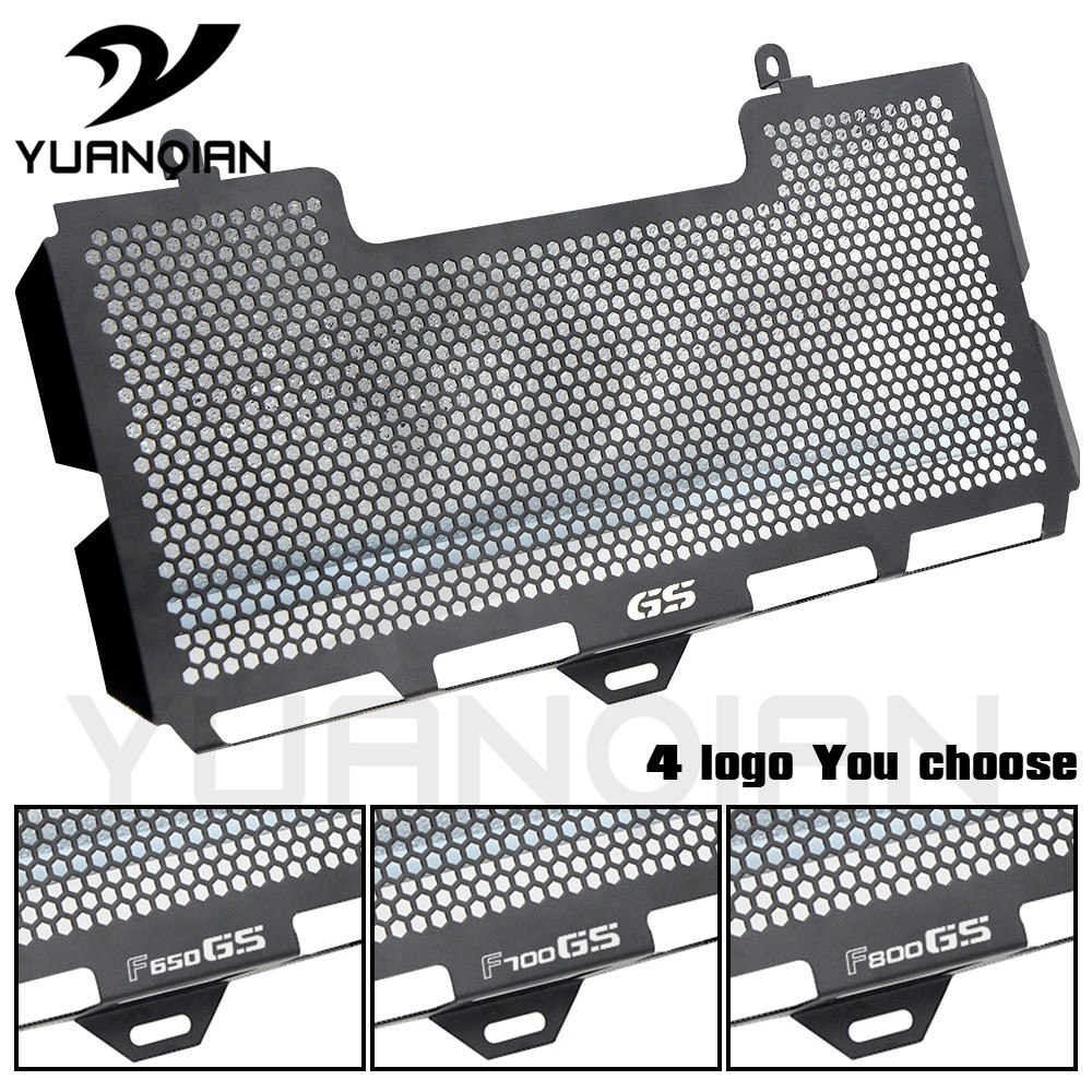 Stainless Steel Motorcycle bike Radiator Grille Grill Cover Protector Guard For BMW F650GS F700GS F800GS 2008-2012 motorcycle radiator grille grill guard cover protector golden for kawasaki zx6r 2009 2010 2011 2012 2013 2014 2015
