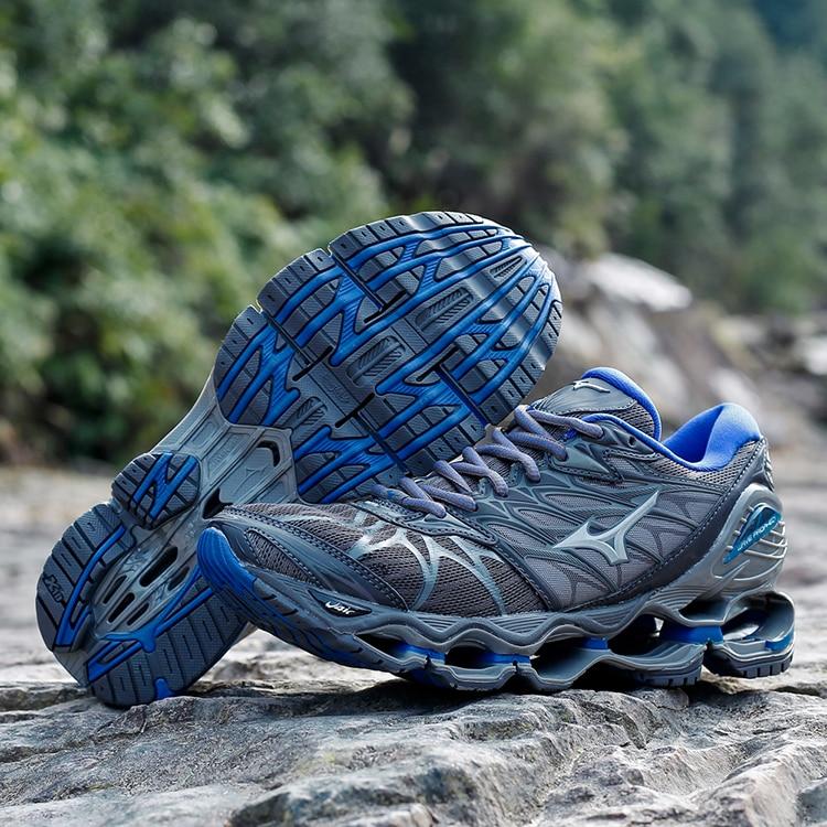 hot sales d4418 1af3c Mizuno Wave Prophecy 7 Professional Men Shoes Mizuno Running Shoes  Ventilation Running Shoes Sport Sneakers Weightlifting Shoes