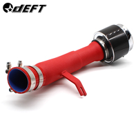 Air Intake Pipe For Honda Ten Generation Civic Intake Pipe Red Aluminum Tube Carbon Fiber Intake Mushroom Head Kit SK CUSTOM