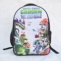 New Plants vs Zombies School Backpack For Teenagers Girl Boy Primary Student Schoolbag For Kids mochila Children Cartoon Bookbag