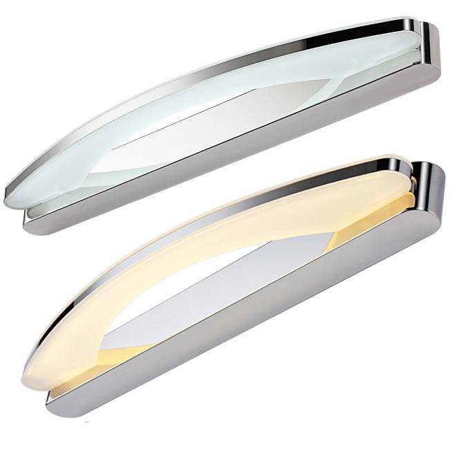 Free Shipping 8W 10W 15W Mirror Light Modern Makeup Dressing Room Bathroom Led Mirror Light Fixtures Home Decoration Lighting