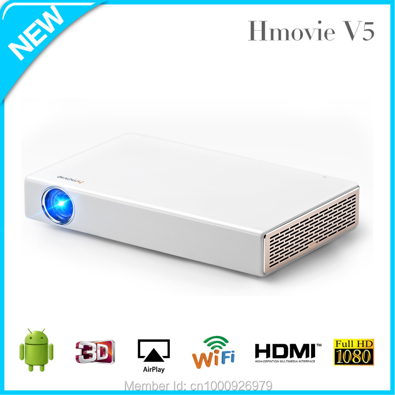 1000 lumens pocket led pico projector portable projector for Best portable projector