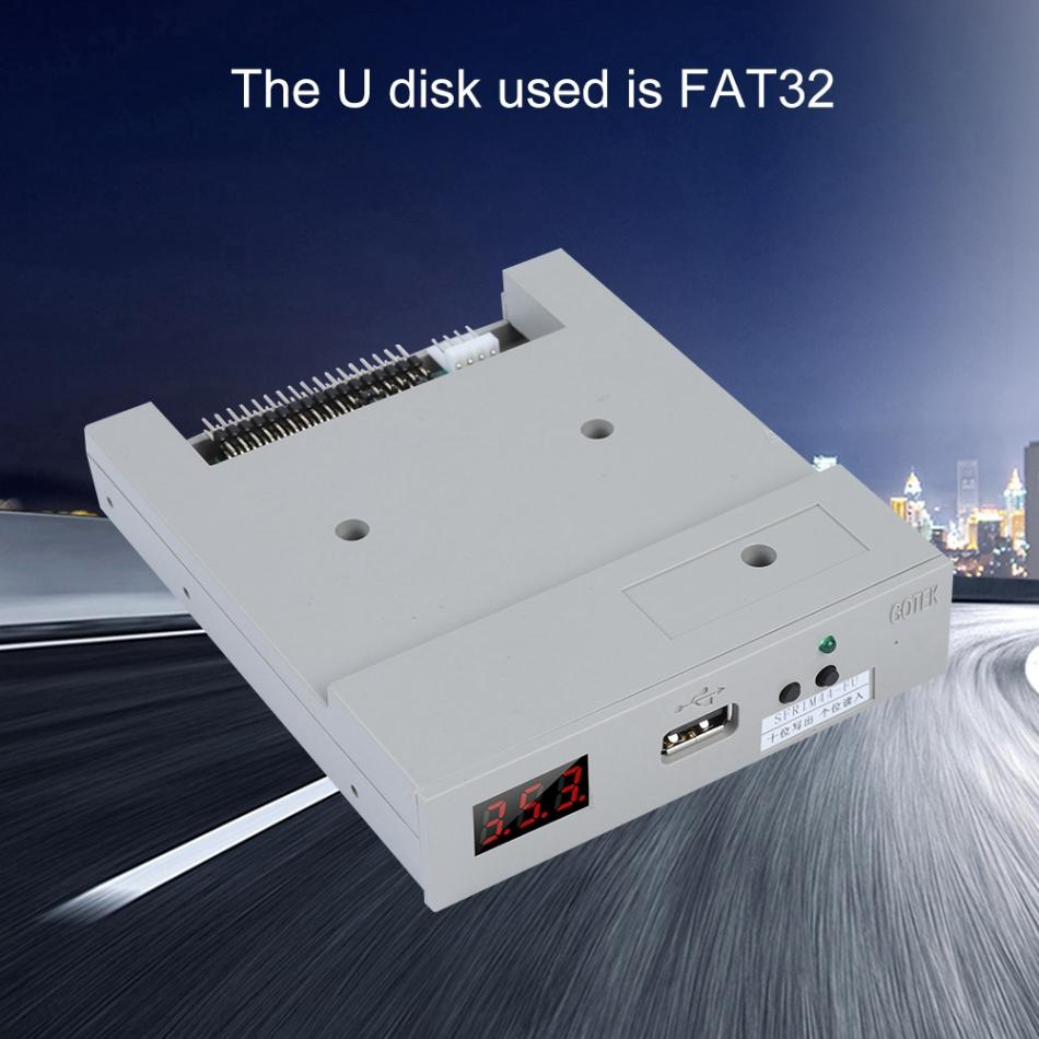 "3.5/"" 1.44MB USB Floppy Drive Emulator SFR1M44-FU Model for Embroidery Machine"