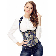 New Style and High Quality Lady Sexy Shaper Wear Halter Vest Waist Corset Underbust Steel Boned L42649