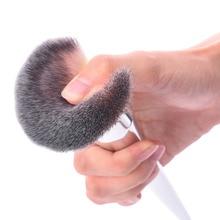 Powder Brush Makeup Brushes Blush Foundation Round Make Up Large Cosmetics Aluminum Brushes Soft Face Makeup