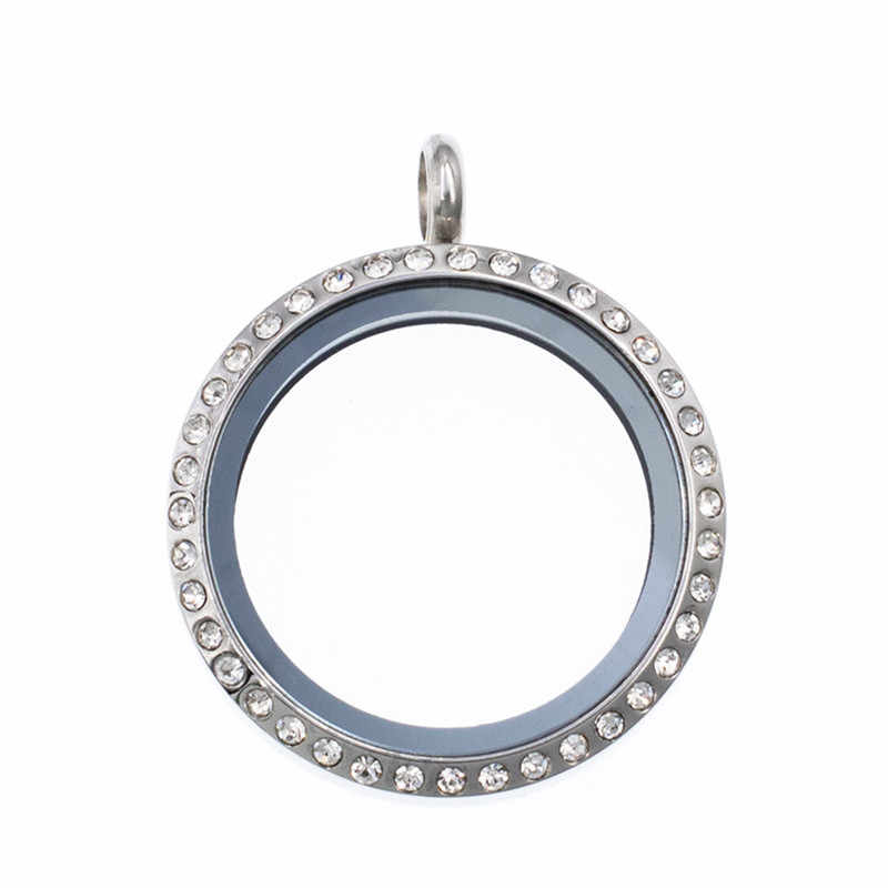 Nowy styl 1 pc 25mm/30mm magnes/Twist śruba ze stali nierdzewnej szkło pływające medalion dla pływające amulety medalion pamięci Charms medalion