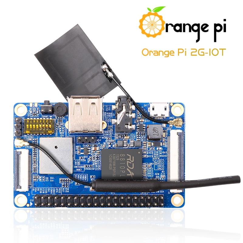 Laranja pi 2g-iot arm Cortex-A5 32bit, bluetooth, open-source single-board computador, suporte android 4.4, ubuntu, debian