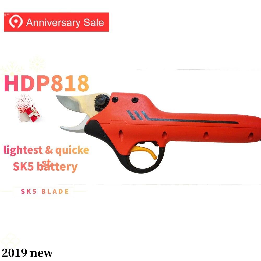 HDP 818 batterie au lithium vignoble ciseaux électriques meilleurs outils de jardin
