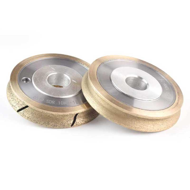 Один OG шлифовальный круг связи металл абразивный диск для стекла Формы кантовочный Диаметр 4 дюймов 6 дюймов отверстие 22 мм Грит 150 M008