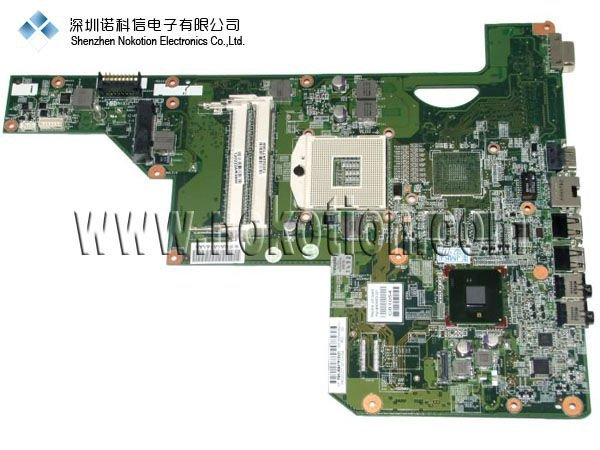 NOKOTION Original laptop Motherboard For HP G72 CQ72 605903-001 mainboard mother boards full tested free shipping laptop motherboard for hp cq321 605746 001 mother boards intel pm45 ati 216 0749001 ddr3 mainboard free shipping