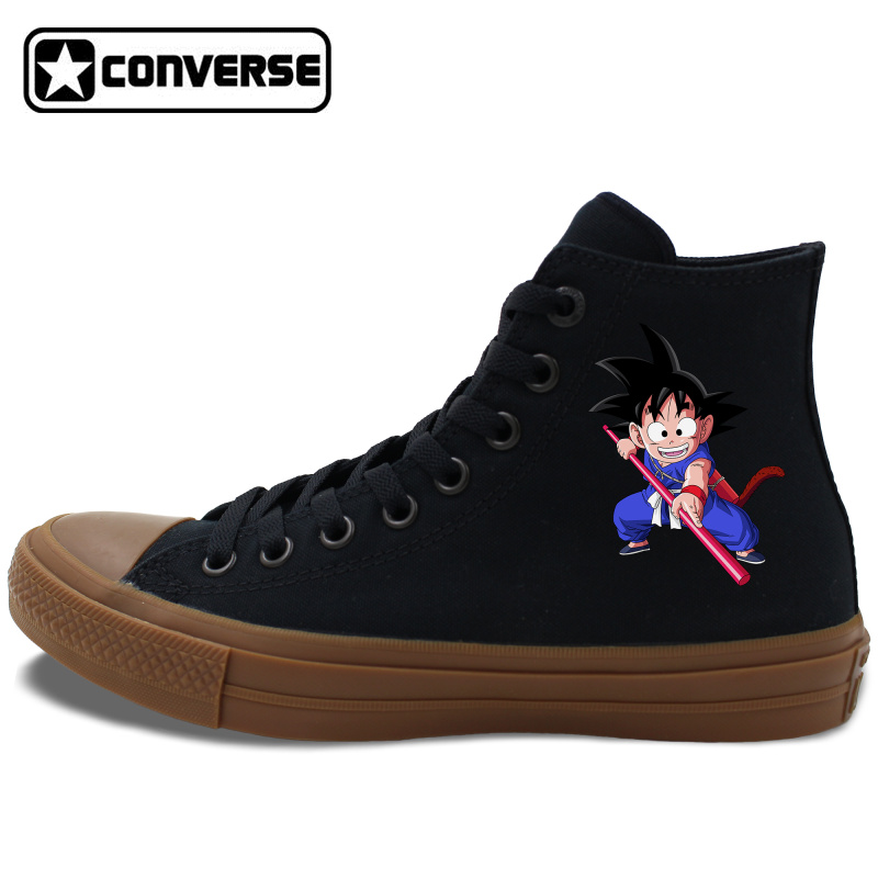 Men Women font b Converse b font Chuck Taylor II Anime All Star Skateboarding Shoes Dragon