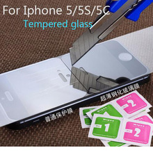 for iphone 5 glass 0.3mm Premium Tempered Glass for iPhone 5 9H  2.5D Arc Edge High Transparent for iphone 5 Screen Protector