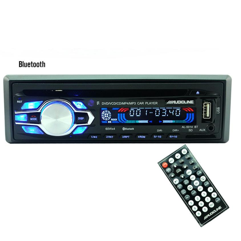 Car-styling Car Radios Bluetooth Car Stereo Audio FM Aux Input Receiver SD USB MP3 Radio td912 dropship