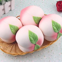 New Arrival stress ball 10CM Colossal Squishy Peaches Cream Scented Slow Rising Decompression toys for children