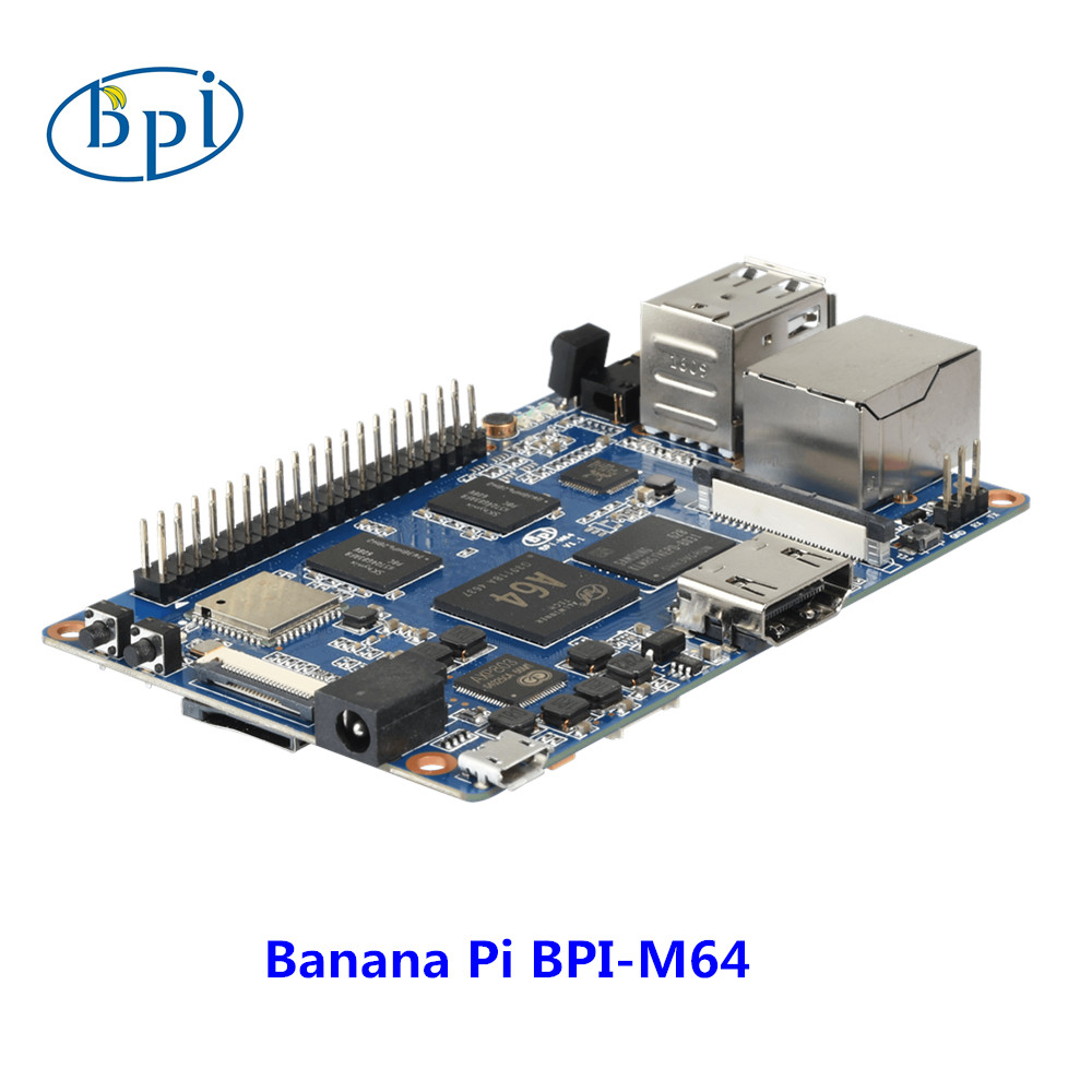 64-bit Quad-core mini single board computer BPI-M64 Banana Pi Board elephant faux gem beaded ring