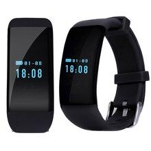 Bluetooth Smartwatch Smart Uhr Armband Armband Band Herzfrequenz Smartband Aktivität Tracker Fitness für IOS Android D21