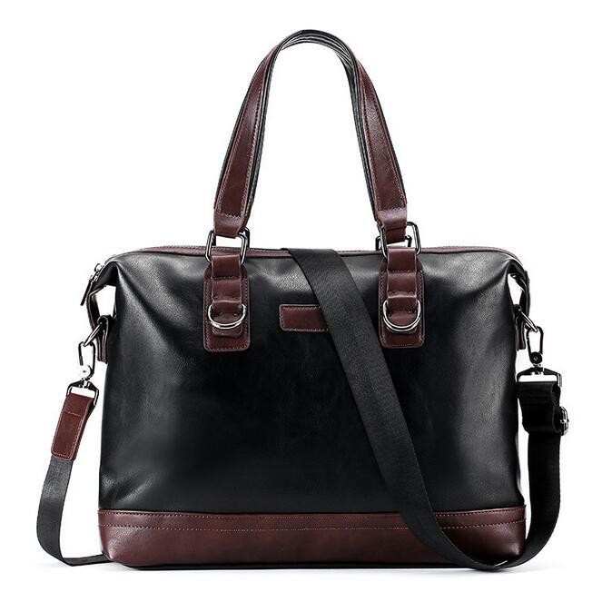 070217 Men Business Document Briefcase Tote Bag
