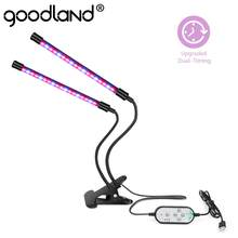 Goodland LED Grow Light Volledige Spectrum Fitolampy USB Phyto Lamp Phytolamp voor Planten Zaailingen Fitolamp Bloem Tent Box Indoor(China)