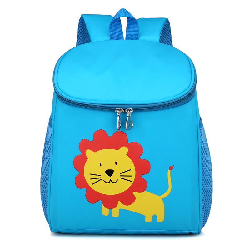 New Zoo School Bag Cute Kids Small Bags Rabbit Pattern Backpacks Boys Kindergarten Backpack For Girls Children Mochila Escolar стоимость