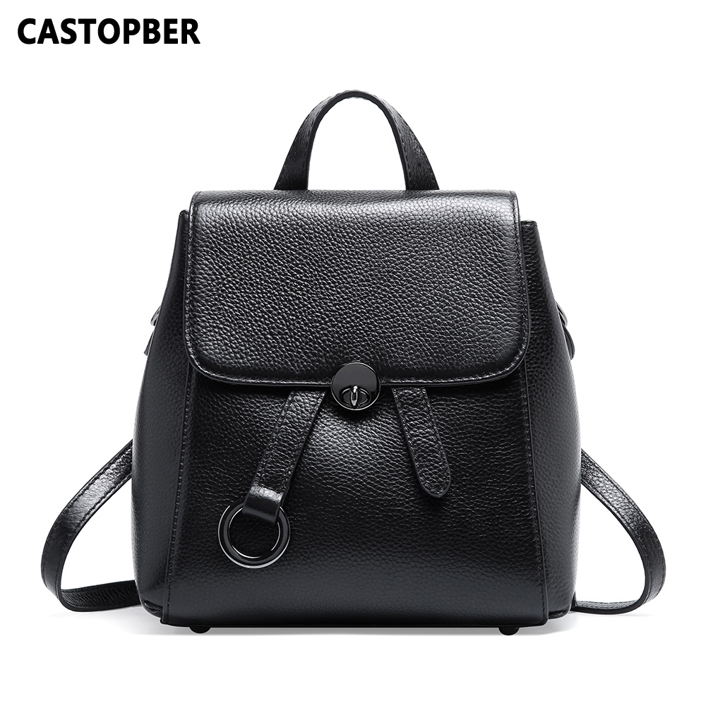 New Women Backpacks Bags Leather Small Backpack Anti-theft Large Capacity Cow Genuine Leather Shoulder Tote Girls BagNew Women Backpacks Bags Leather Small Backpack Anti-theft Large Capacity Cow Genuine Leather Shoulder Tote Girls Bag