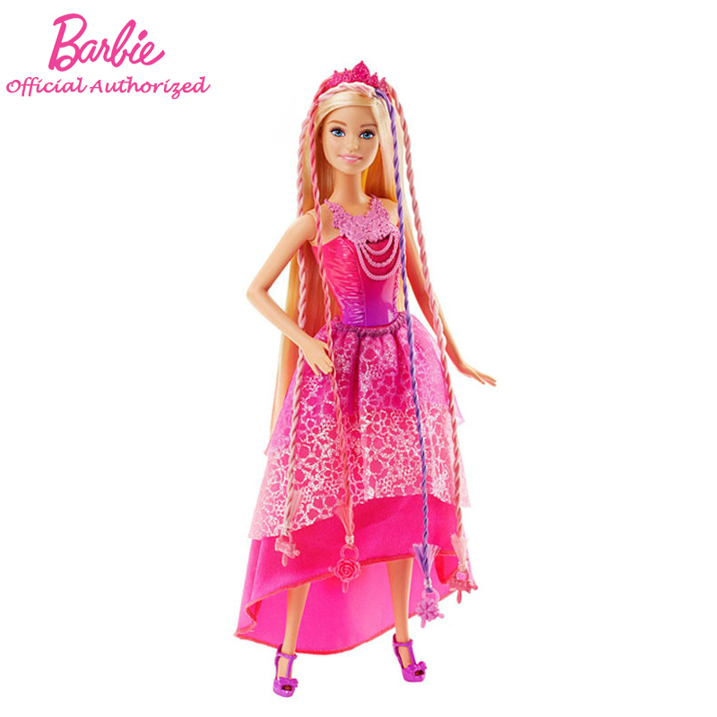 Barbie Original Brand Collection Doll Long Hair Princess Beautiful Queen Baby Toy Barbie Boneca Mode DKB62 Free Shipping dkb household william levene h572720