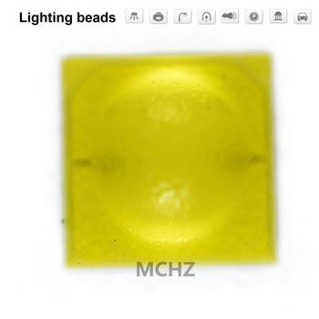 100pcs TIAN DIAN Flip chip 3535 power Ball head lens 3 W SMD LED diodo 3 V 1000ma