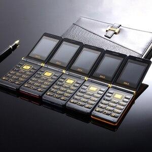 Image 5 - Lật Màn Hình Cảm Ứng Lớn Nhựa Cao Cấp Tế Bào Di Động Điện Thoại Cho Người Già Một Khóa Đèn Pin Bên Ngoài FM Lớn Nga Chìa Khóa dual Sim BLT61