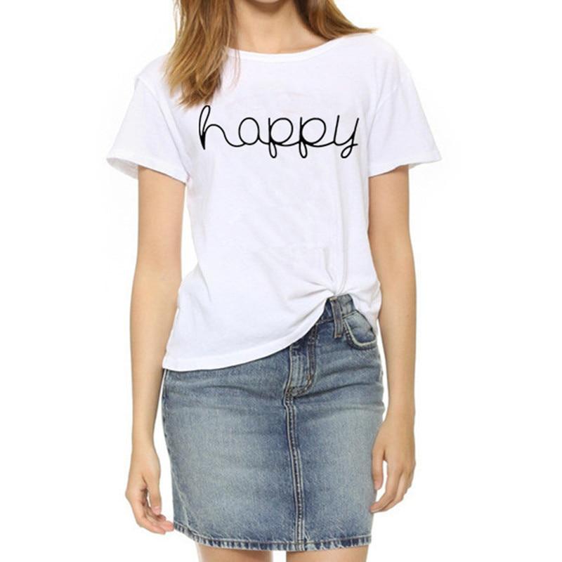 Nothing Letter Rose Print Female T Shirt 32