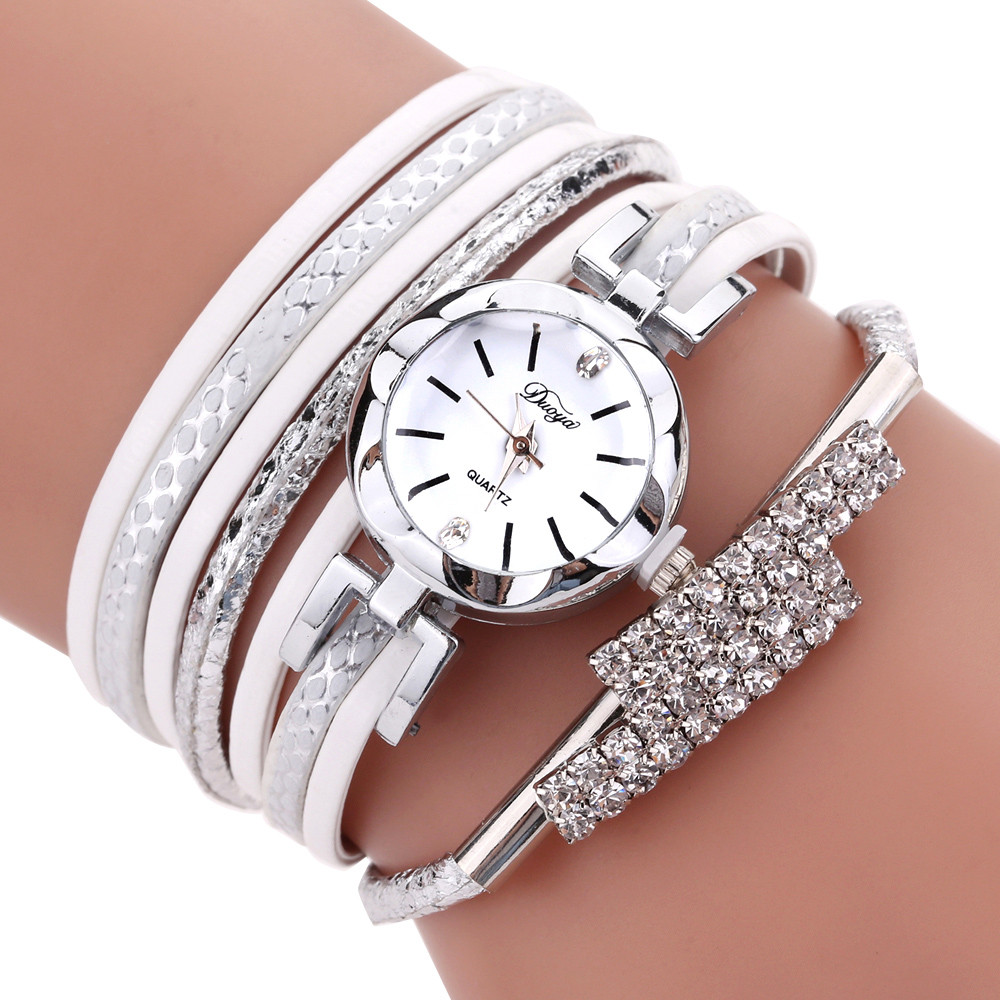 Luxury Women's casual bracelet watches Fashion Women Girls Ladies Fashion Jewelry Watches Bracelet Wristband NEW