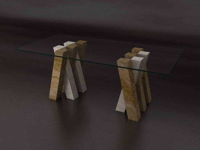 2015 Neue Design Rechteck Travertin Esstisch Set Gesundheit Natur Marmor  Esszimmer Möbel Rechteck Tisch NB
