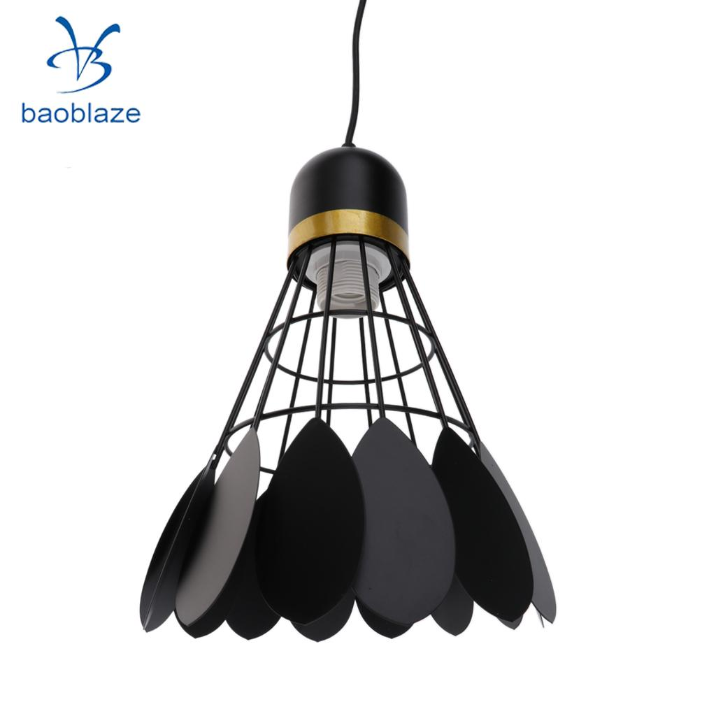 Chandelier Modern Novelty Badminton Hanging Iron Lamp Shade Children \'s Room Ceiling Lamp Interior Lighting
