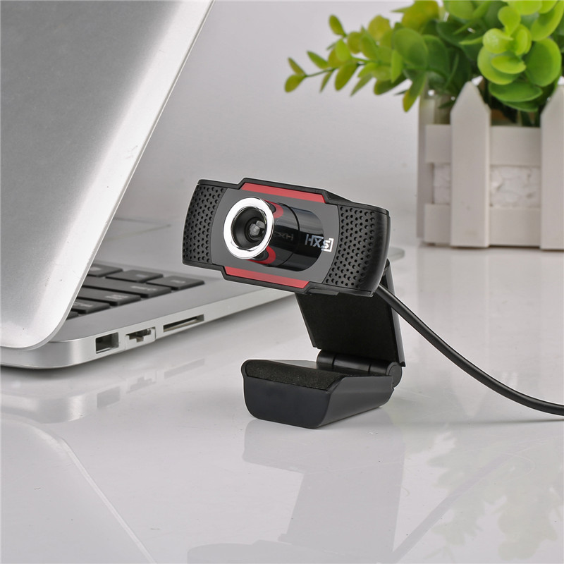 Hd webcam 720p video record usb microphone web camera with for Camera tv web