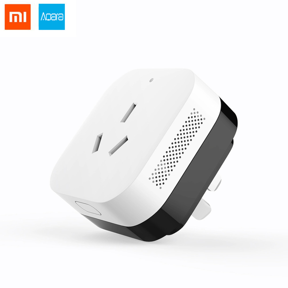 Xiaomi Aqara Mi Home App Wifi Smart Zigbee Air Conditioner Upgrade Version Gateway function Work for Control Smart Home System in stock xiaomi gateway 3 aqara air conditioning companion gateway illumination detection function work with mi smart home kits
